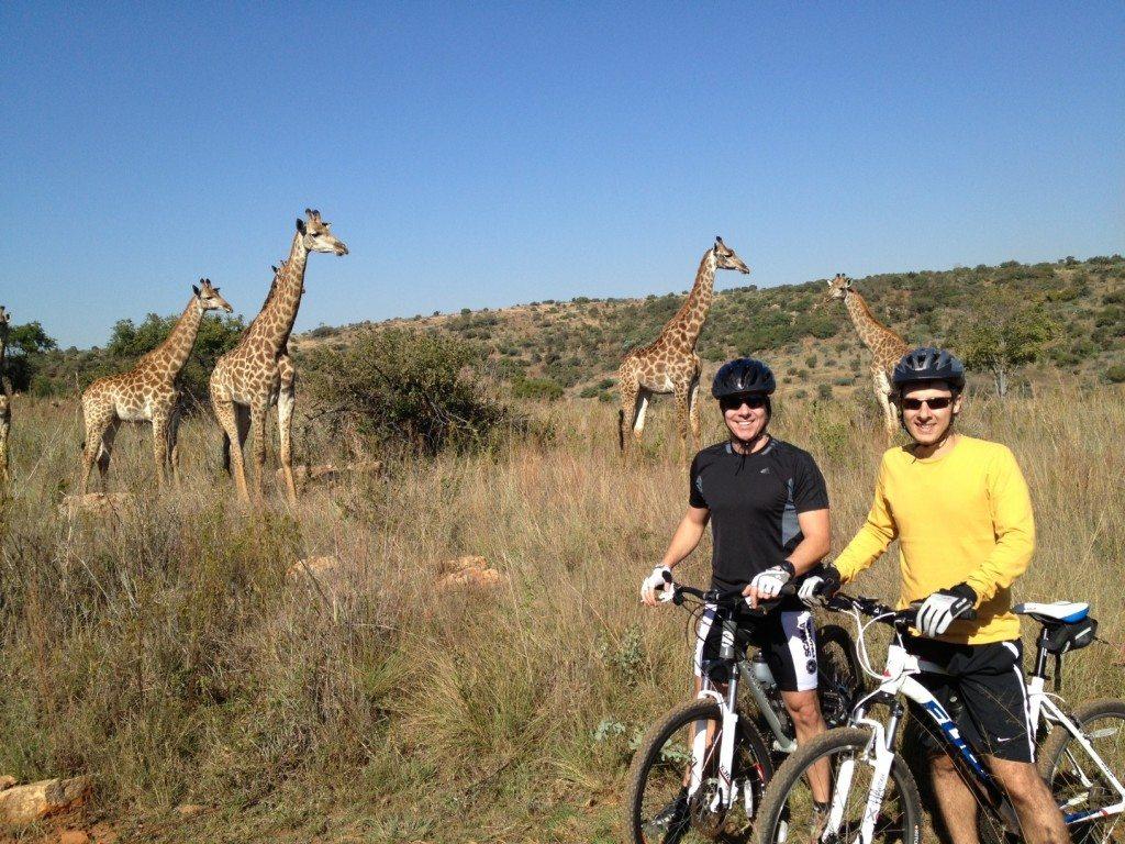 Pedal em Pretoria, Groenkloof