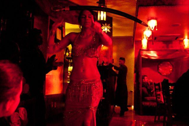 Jantar com dança no A La Turka