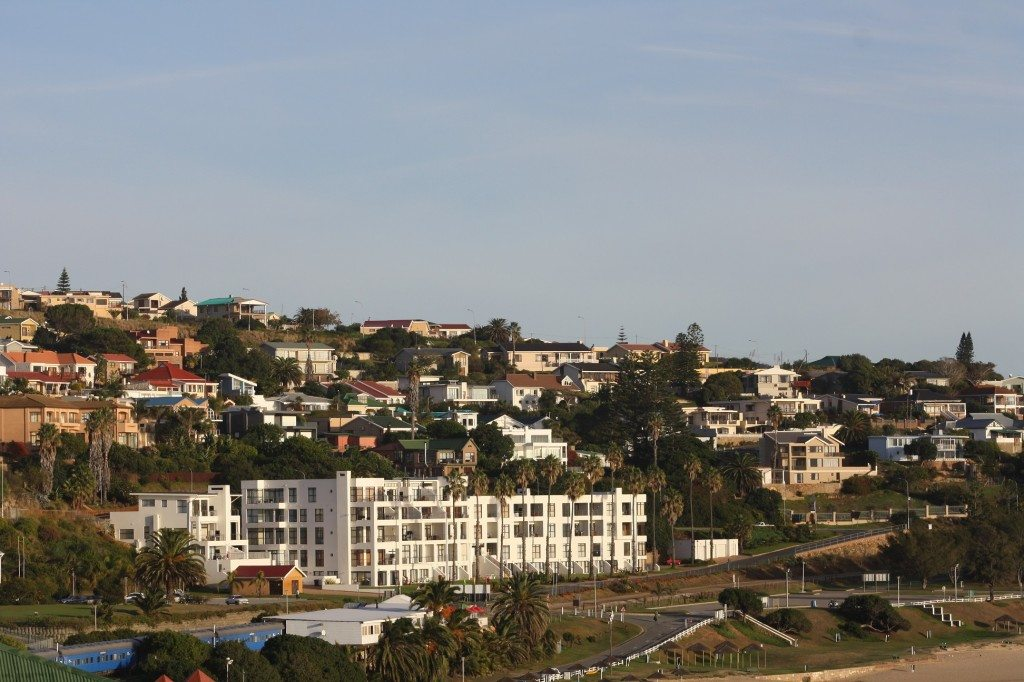mossel bay town view