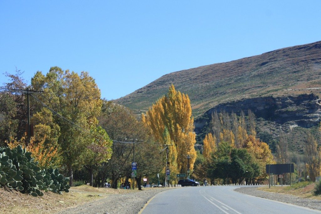 clarens entrance road