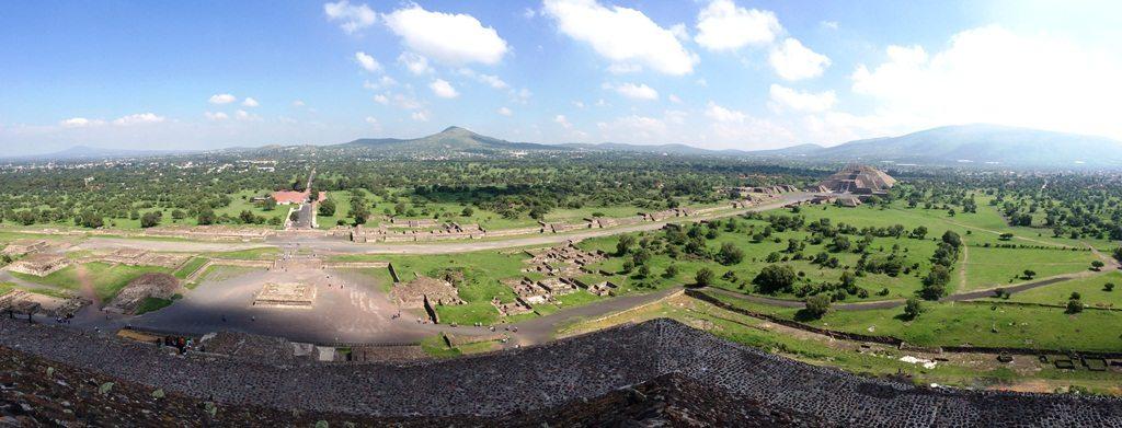 Teotihuacan_Vista_Topo_Piramide_do_Sol