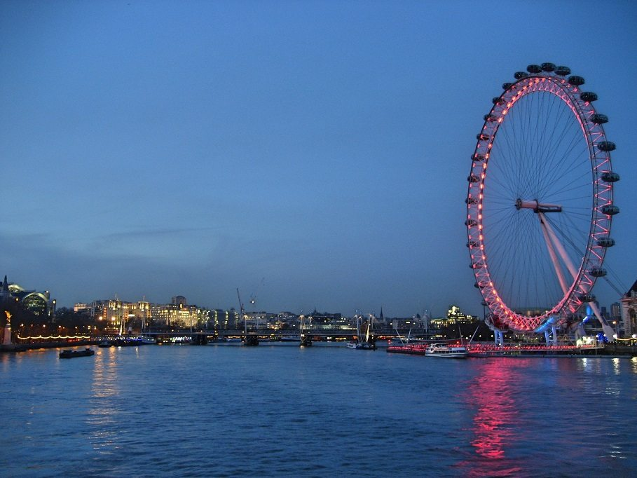London_eye_de_noite_londres